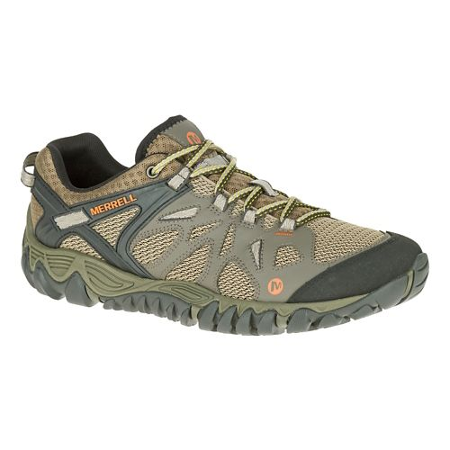 Mens Merrell All Out Blaze Aero Sport Hiking Shoe - Khaki 7.5