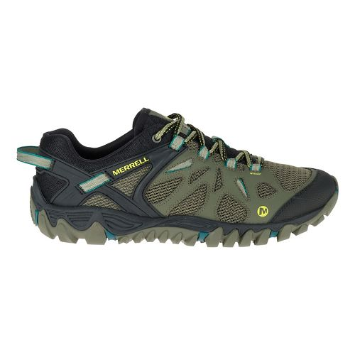 Mens Merrell All Out Blaze Aero Sport Hiking Shoe - Dusty Olive 9.5