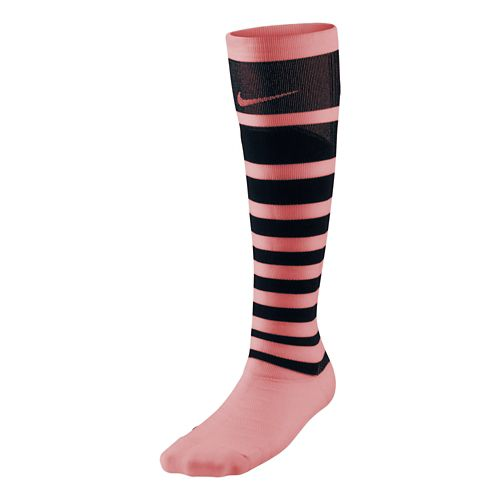 Womens Nike Elite High Intensity Knee High Socks - Light Aqua M