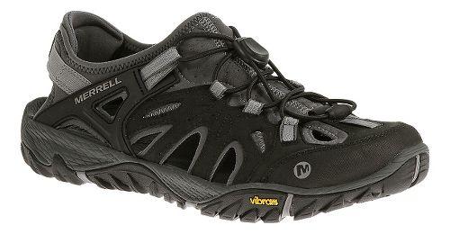 Mens Merrell All Out Blaze Sieve Hiking Shoe - Black/Wild Dove 10