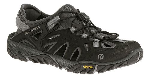 Mens Merrell All Out Blaze Sieve Hiking Shoe - Black/Wild Dove 13