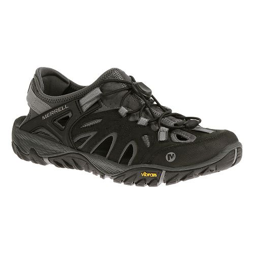 Mens Merrell All Out Blaze Sieve Hiking Shoe - Black/Wild Dove 15