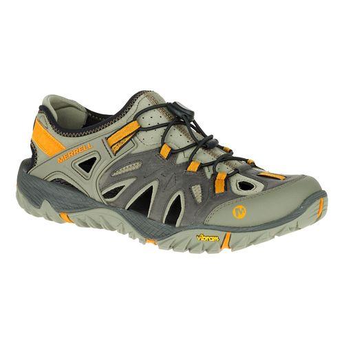 Mens Merrell All Out Blaze Sieve Hiking Shoe - Black/Wild Dove 11.5
