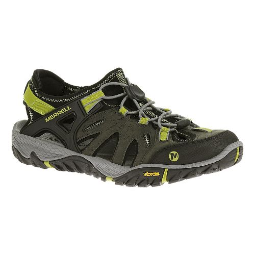 Mens Merrell All Out Blaze Sieve Hiking Shoe - Castle Rock 10