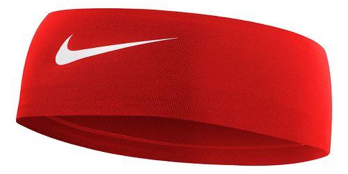 Womens Nike Fury Headband Headwear - University Red/White