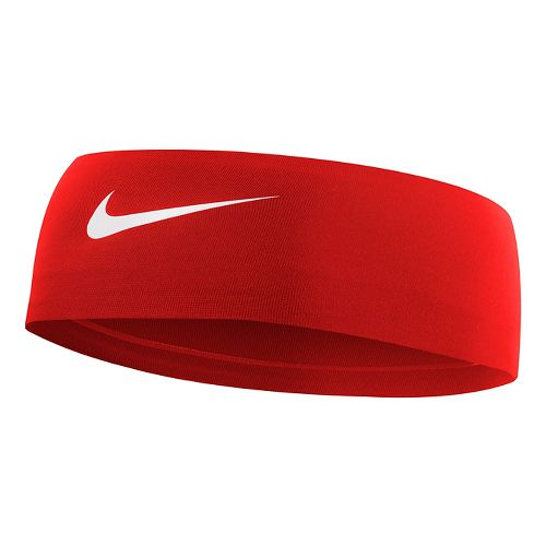 Womens Nike Fury Headband Headwear - University Red/White