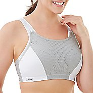Womens Glamorise Double Layer Custom Control D/DD/F/G/H Sports Bras - Grey 38DD