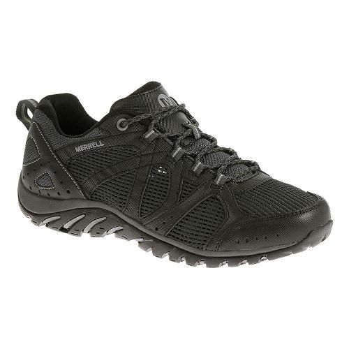 Mens Merrell Rockbit Cove Hiking Shoe - Black/Granite 7