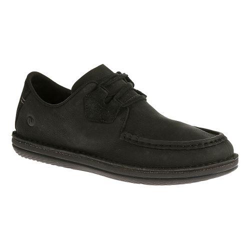 Mens Merrell Bask Lace Casual Shoe - Black 7.5