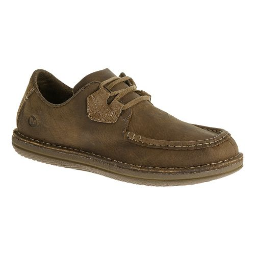Mens Merrell Bask Lace Casual Shoe - Moss 9