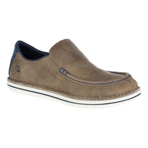 Mens Merrell Bask Moc Casual Shoe - Brindle 9