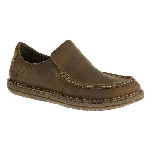 Mens Merrell Bask Moc Casual Shoe - Moss 9.5