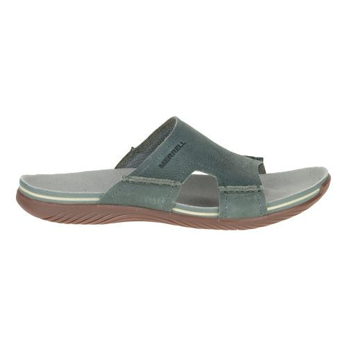 Mens Merrell Bask Slide Sandals Shoe - Sage 15