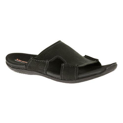 Mens Merrell Bask Slide Sandals Shoe - Moss 8