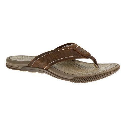 Mens Merrell Terracove Jet Sandals Shoe - Oak 9