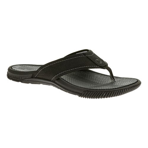 Mens Merrell Terracove Jet Sandals Shoe - Black 15