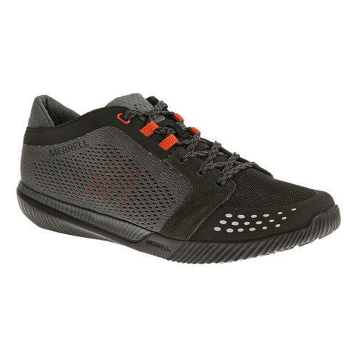 Mens Merrell Rowst Fury Casual Shoe - Black 7