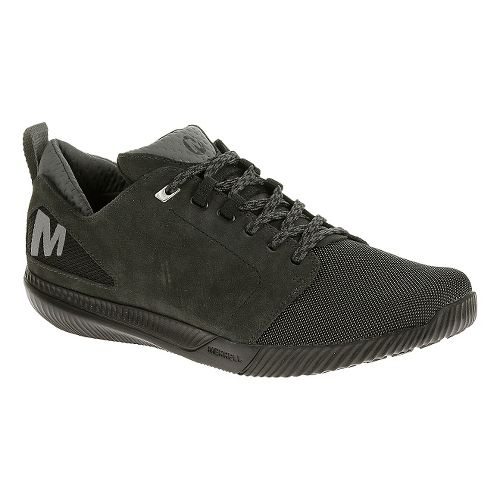Mens Merrell Rowst Frenzy Casual Shoe - Black 10