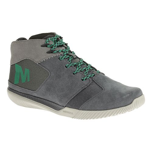 Mens Merrell Rowst Fume Casual Shoe - Castle Rock 12