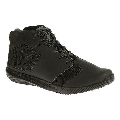 Mens Merrell Rowst Fume Casual Shoe - Black 15