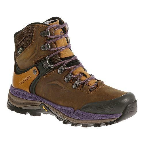 Womens Merrell Crestbound GORE-TEX Hiking Shoe - Brown Sugar 6