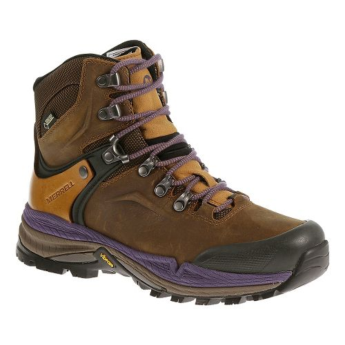 Womens Merrell Crestbound GORE-TEX Hiking Shoe - Brown Sugar 7.5