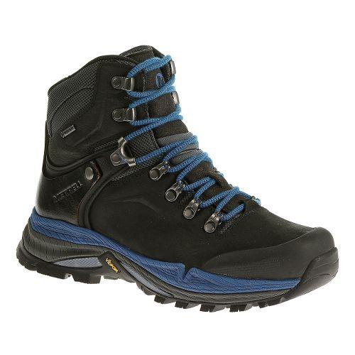 Womens Merrell Crestbound GORE-TEX Hiking Shoe - Black 9