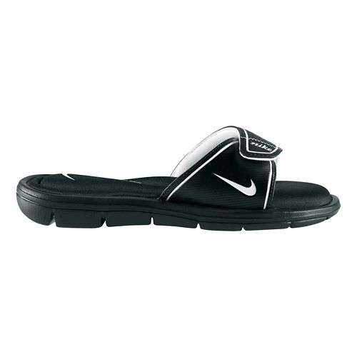 Womens Nike Comfort Slide Sandals Shoe - Black 8