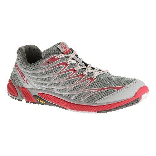 Womens Merrell Bare Access Arc 4 Trail Running Shoe - Grey 7.5