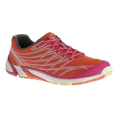 Womens Merrell Bare Access Arc 4 Trail Running Shoe - Coral 5.5