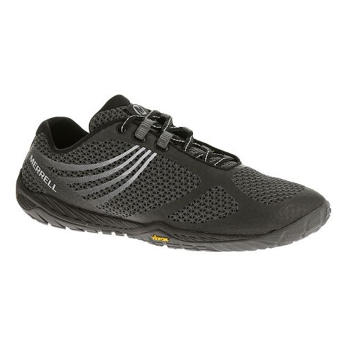Womens Merrell Pace Glove 3 Trail Running Shoe - Black 10