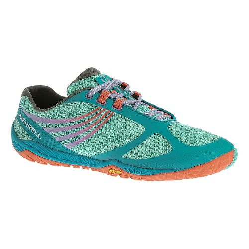 Womens Merrell Pace Glove 3 Trail Running Shoe - Aqua 5.5