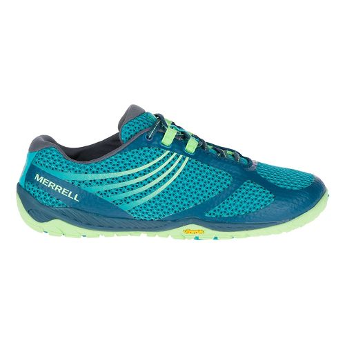 Womens Merrell Pace Glove 3 Trail Running Shoe - Turquoise 6