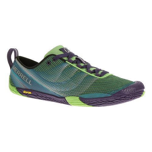 Womens Merrell Vapor Glove 2 Trail Running Shoe - Bright Green 5