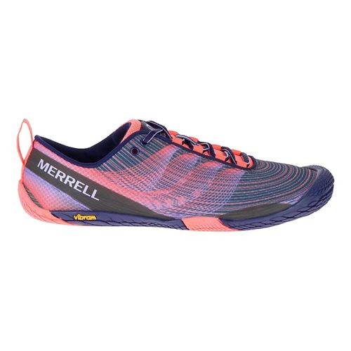 Womens Merrell Vapor Glove 2 Trail Running Shoe - Crown Blue 7