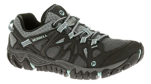 Womens Merrell All Out Blaze Aero Sport Hiking Shoe - Black 10.5