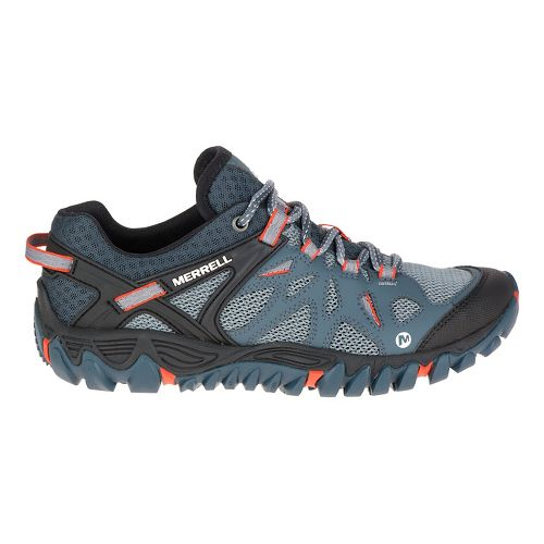 Womens Merrell All Out Blaze Aero Sport Hiking Shoe - Sea Pine 7.5