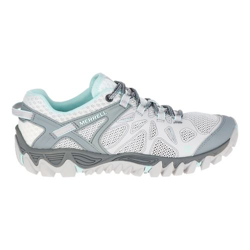 Womens Merrell All Out Blaze Aero Sport Hiking Shoe - Vapor 10.5