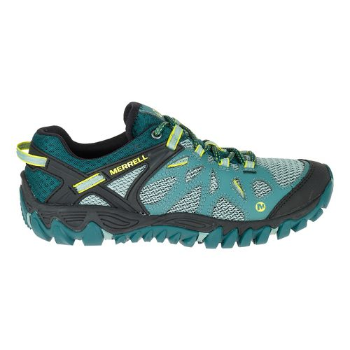Womens Merrell All Out Blaze Aero Sport Hiking Shoe - Sea Pine 9