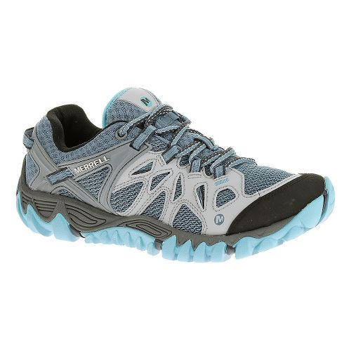 Womens Merrell All Out Blaze Aero Sport Hiking Shoe - Blue Heaven 9.5