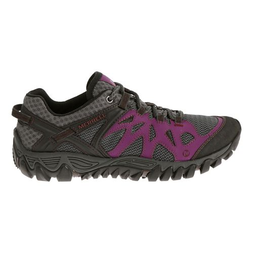 Womens Merrell All Out Blaze Aero Sport Hiking Shoe - Purple 9.5