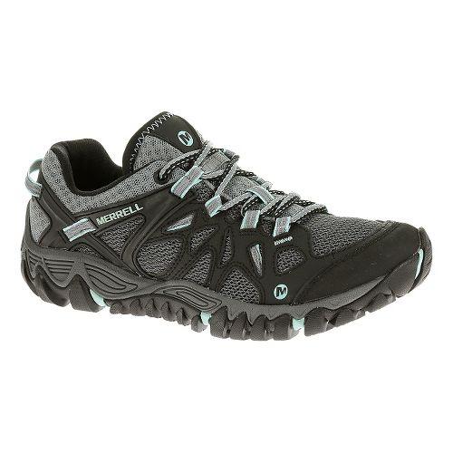 Womens Merrell All Out Blaze Aero Sport Hiking Shoe - Black 9