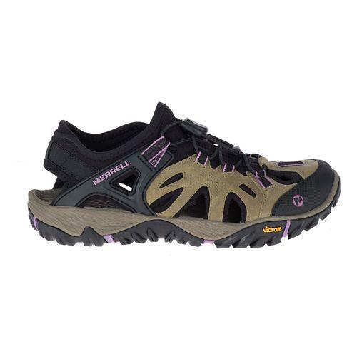 Womens Merrell All Out Blaze Sieve Sandals Shoe - Castle Rock 11