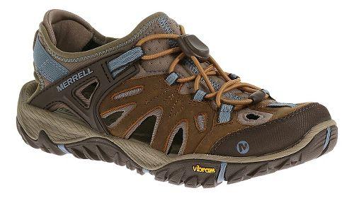 Womens Merrell All Out Blaze Sieve Sandals Shoe - Brown Sugar 6.5