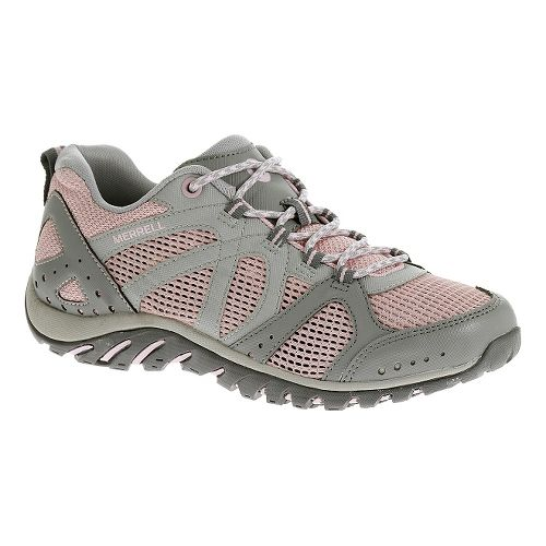 Womens Merrell Rockbit Cove Hiking Shoe - Pink 6.5