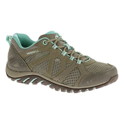 Womens Merrell Rockbit Cove Hiking Shoe - Brindle 10
