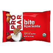 Pro Bar Bite Organic Snack Bar Box of 12 Bars