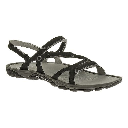 Womens Merrell Enoki Convertible Sandals Shoe - Black 5