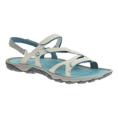 Womens Merrell Enoki Convertible Sandals Shoe - Sky Blue 5