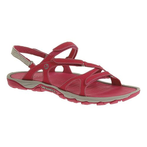 Womens Merrell Enoki Convertible Sandals Shoe - Rose Red 5
